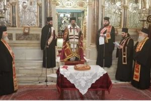 Ο Μητροπολίτης Χίου Μάρκος ευλόγησε την Βασιλόπιτα της Μητροπόλεως παρουσία των τοπικών αρχών
