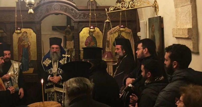 You are currently viewing Θυρανοίξια Ιερού Ναού από τον Ρεθύμνης Ευγένιο