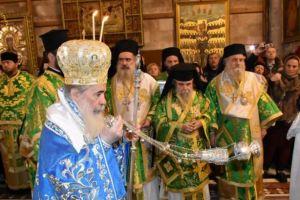 Με κατάνυξη και μεγαλοπρέπεια εορτάστηκαν τα Θεοφάνεια στους Αγίους Τόπους