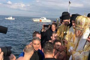 Καθαγιασμός των Υδάτων από τον αεικίνητο Οικουμενικό Πατριάρχη στην Τρίγλια Προύσας, μετά από 97 χρόνια