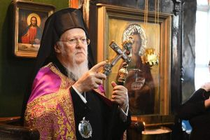 Ιστορική λειτουργία στον Τσεσμέ από τον Οικουμενικό Πατριάρχη Βαρθολομαίο στις 10 Φεβρουαρίου