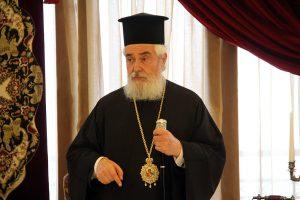 """Φωκίδος Θεόκτιστος: """"Αντισταθείτε στην εκχώρηση του ονόματος της ηρωικής Μακεδονίας"""""""