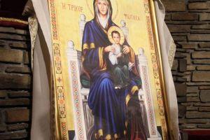 Στιγμιότυπα από την ανάμνηση του θαύματος της Παναγίας της Τρικορφιώτισσας στην Ιερά Μονή Τρικόρφου Φωκίδος