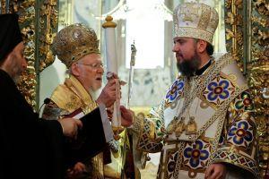 Ο Πατριάρχης Βαρθολομαίος έμπλεος χαράς και ικανοποιήσεως παρέδωσε την Αυτοκεφαλία στην Εκκλησία της Ουκρανίας τονίζοντας πως ενήργησε χωρίς καμία ιδιοτέλεια και σκοπιμότητα'