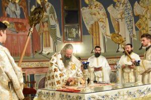 Η Αρχαιοπρεπής Θ.Λειτουργία του Αγίου Ιακώβου τελέστηκε στην Ι. Μ. Κίτρους