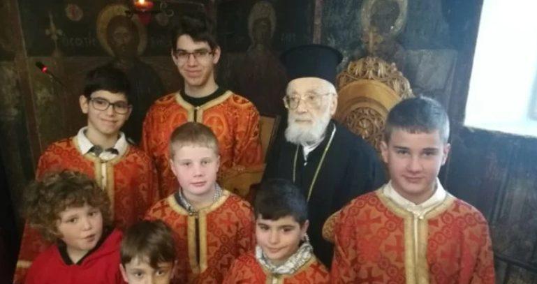 Στο Χαλάνδρι εορτάστηκαν τα ονομαστήρια του πολιού Ιεράρχη Αχελώου Ευθυμίου- παρόντων των πνευματικών του παιδιών