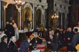 Πλήθος πιστών στην Πρωτοχρονιάτικη Αγρυπνία στην Αλεξανδρούπολη