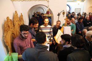 Στο Εθνικό Μετσόβιο Πολυτεχνείο καθηγητές και φοιτητές εόρτασαν τους Τρείς Ιεράρχες υπό τις ευλογίες του Θεσπιών Συμεών