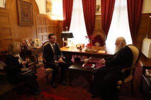 Με τον Καναδό Πρέσβη συναντήθηκε ο Αρχιεπίσκοπος