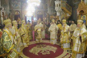 Το ιερό μνημόσυνο της μητέρας του Σεβ. Φθιώτιδος Νικολάου, προεξάρχοντος του Μακ. Αρχιεπισκόπου Αθηνών Ιερωνύμου