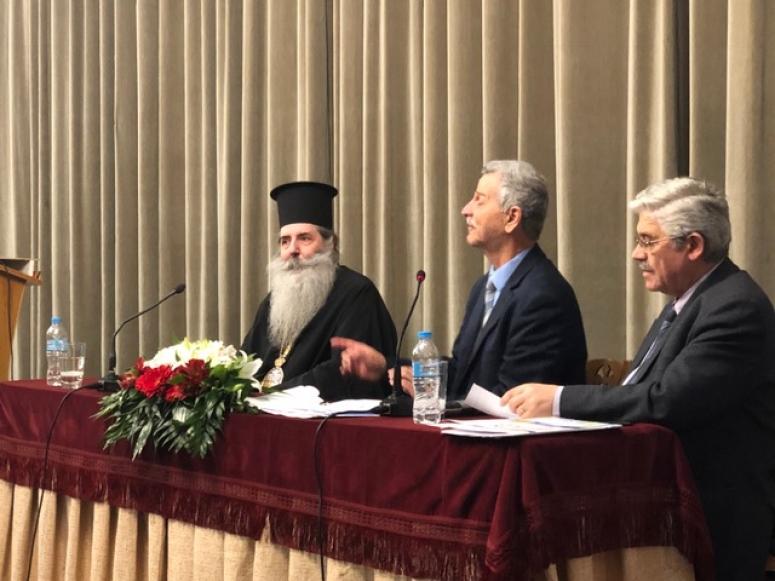 Ο Σεβ. Μητροπολίτης Πειραιώς Σεραφείμ, μίλησε για τα ανθρώπινα δικαιώματα στην Πάτρα.