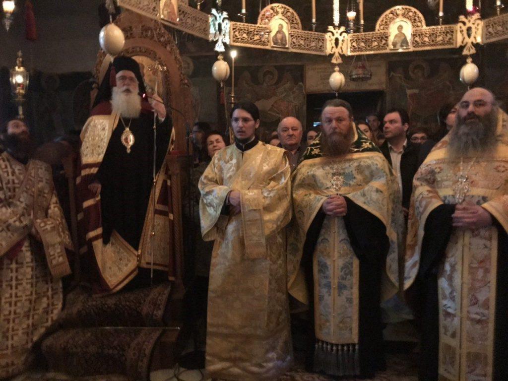 Ρασοφορία Μοναχού στην Άνω Μονή Ξενιάς Βόλου