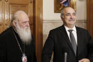 Σε εξαιρετικό κλίμα η συνάντηση Αρχιεπισκόπου – Μπόλαρη