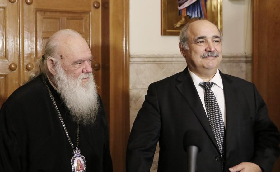 You are currently viewing Σε εξαιρετικό κλίμα η συνάντηση Αρχιεπισκόπου – Μπόλαρη