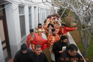 Εορτάστηκε η μνήμη του Αγίου Ανθίμου,Ιδρυτή και Κτήτορα της Ι.Μ. Παναγίας Βοήθειας στη Χίο