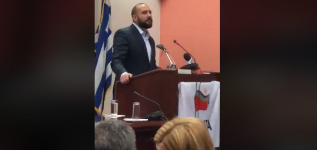 Μία γενναία Ελληνίδα σηκώθηκε στον Τζανακόπουλο στην Κατερίνη και του φώναξε είστε προδότες – Πάγωσαν οι ΣΥΡΙΖαίοι