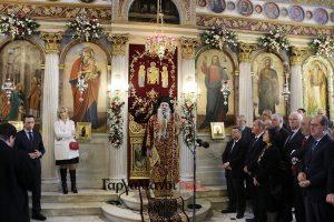 Εορτάστηκε μεγαλόπρεπα η μνήμη του Αγίου Μεγαλομάρτυρος Χαραλάμπους στα Φιλιατρά