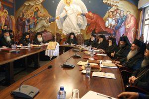 Αποφάσεις έκτακτης συνεδρίας Ιεράς Συνόδου της Εκκλησίας της Κύπρου