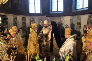 Ενθρονίστηκε ο νέος Προκαθήμενος της Ουκρανίας Επιφάνιος