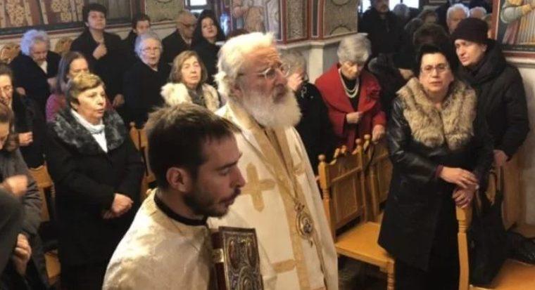 Στη Θεσσαλονίκη ιερούργησε ο Αρκαλοχωρίου Ανδρέας