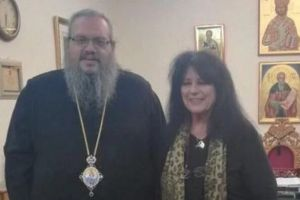 Με τη βουλευτή Αννα Βαγενά συναντήθηκε ο Σεβ.Λαρίσης Ιερώνυμος