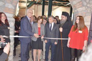 Ο Μητροπολίτης Λαρίσης εγκαινίασε το Μουσείο Σιτηρών και Αλεύρων