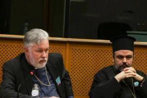 Ο Βελγίου Αθηναγόρας από το βήμα του Ευρωπαϊκού Κοινοβουλίου: «Η Μητέρα Εκκλησία πάντοτε ενεργεί για το καλό και την ενότητα της Εκκλησίας»