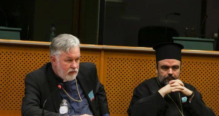 You are currently viewing Ο Βελγίου Αθηναγόρας από το βήμα του Ευρωπαϊκού Κοινοβουλίου: «Η Μητέρα Εκκλησία πάντοτε ενεργεί για το καλό και την ενότητα της Εκκλησίας»