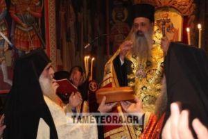 Τη μνήμη του προστάτη της Αγίου Χαραλάμπους τιμά η Μονή Αγίου Στεφάνου Μετεώρων