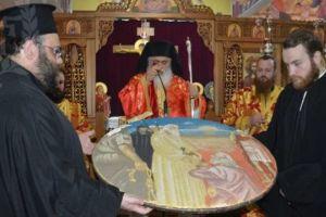 Η εορτή του Αγίου Πολυκάρπου στην Ι.Μ. Νεαπόλεως