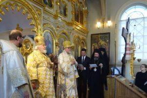 Ενθρονίστηκε ο νέος Μητροπολίτης Κουόπιο και Καρελίας Αρσένιος