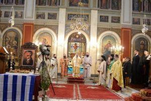 Η Μητρόπολη Πατρών τίμησε τον Θεόδωρο Κολοκοτρώνη