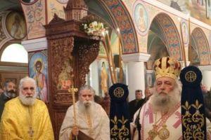 Ο Παροναξίας Κύριλλος στην Ι.Μ. Αγίου Αρσενίου