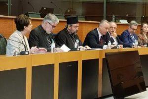 Ο Σμύρνης Βαρθολομαίος ομιλεί στις Βρυξέλλες για το ρόλο του Φαναρίου