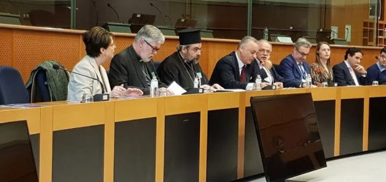 You are currently viewing Ο Σμύρνης Βαρθολομαίος ομιλεί στις Βρυξέλλες για το ρόλο του Φαναρίου