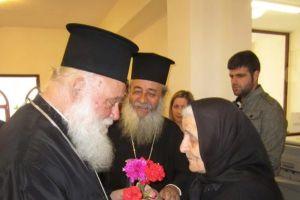 Ο Αρχιεπίσκοπος στο 40νθήμερο μνημόσυνο της μητρός του Φθιώτιδος Νικολάου στη Λαμία