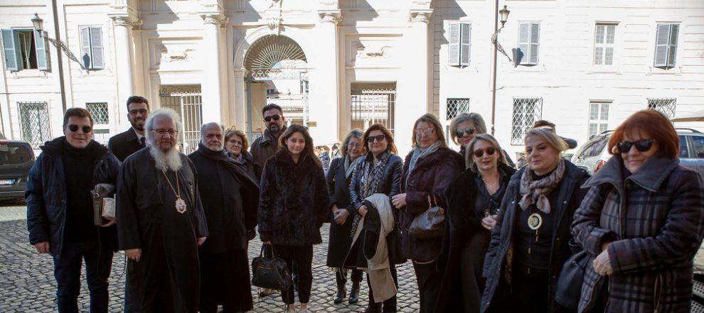 You are currently viewing Πολιτιστική-επιμορφωτική επίσκεψη της Αποστολικής Διακονίας και του ΚΕ.Σ.Ο. στο Ποντιφικό Ινστιτούτο Ανατολικών Σπουδών και στο Ουρβανιανό Κολλέγιο
