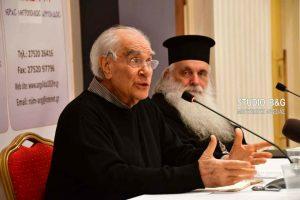 Πρώτη Συνάντηση της Σχολής Γονέων της Ι.Μ. Αργολίδος με ομιλητή τον Χρήστο Γιανναρά