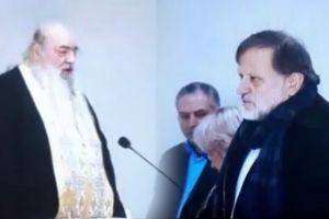 Ιερέας στη Φλώρινα προς τον βουλευτή Σέλτσα: Να μετανοήσεις δημόσια για την προδοσία της Μακεδονίας – Σέλτσας: Είσαι…τραμπούκος!!