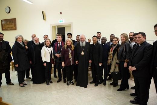 Πολιτιστική-επιμορφωτική επίσκεψη της Αποστολικής Διακονίας και του ΚΕ.Σ.Ο. στο Ποντιφικό Ινστιτούτο Ανατολικών Σπουδών και στο Ουρβανιανό Κολλέγιο