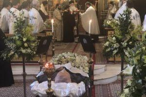 Ξεπροβοδίσαμε  έναν Αγιο άνθρωπο! Κηδεύθηκε με τη συμμετοχή  πολλών Αρχιερέων ο αδελφός του Αρχιεπισκόπου Χριστοδούλου, ο Ιωάννης Παρασκευαΐδης