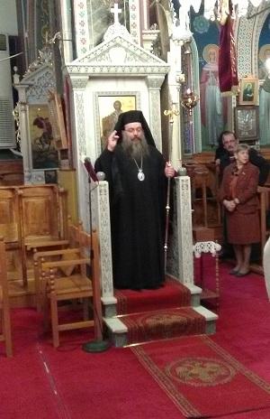 Ο Εσπερινός της Τυρινής Κυριακής στον ιστορικό ναό Αγίου Λουκά Λιβαδίων Χίου, με  τον Σεβ. Χίου Μάρκο