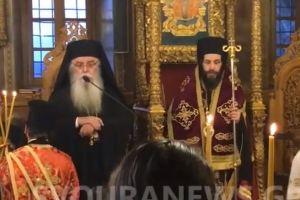 Ο Νέος Μητροπολίτης Σιατίστης Αθανάσιος στον Εσπερινό της Σταυροπροσκυνήσεως στην Καστοριά