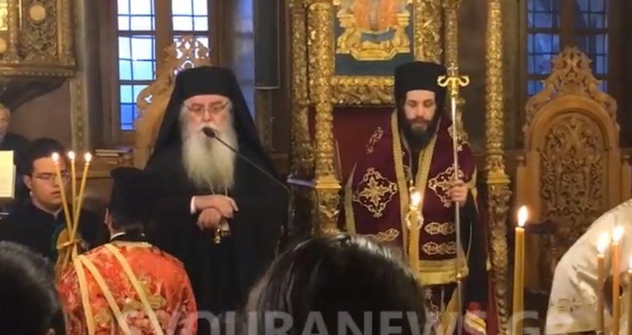 You are currently viewing Ο Νέος Μητροπολίτης Σιατίστης Αθανάσιος στον Εσπερινό της Σταυροπροσκυνήσεως στην Καστοριά