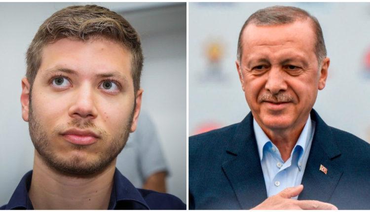 You are currently viewing Ο,τι δεν λένε οι Ελληνες πολιτικοί τα είπε ο γιός του Ισραηλινού πρωθυπουργού στον Ερντογάν: «Κωνσταντινούπολη λέγεται, όχι Ιστανμπούλ»