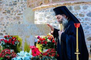 Μνημόσυνο από τον Σεβ. Λαγκαδά Ιωάννη, για τα τέσσερα χρόνια της εκδημίας του Αρχιμ. Κυπριανού Γλαρούδη
