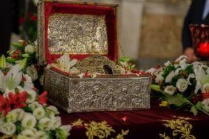 Τιμία Κάρα του Αγίου Παρθενίου στον Πειραιά