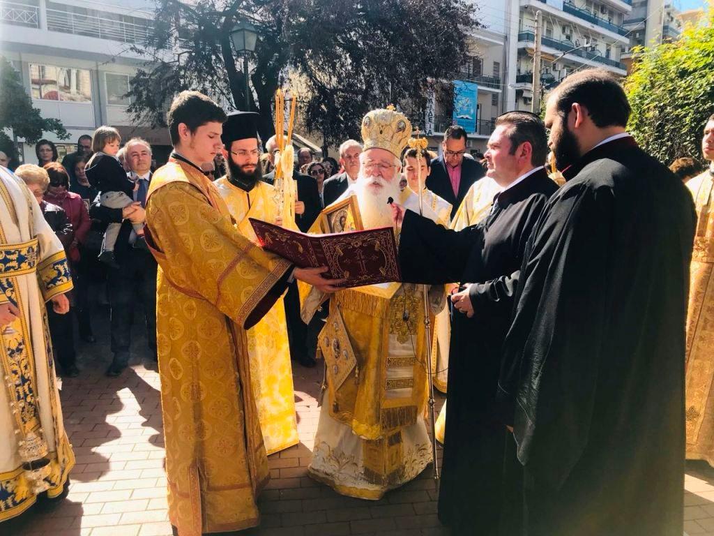 Δημητριάδος Ιγνάτιος: «Σήμερα η Ορθόδοξη Εκκλησία πορεύεται σε μία αιχμηρή έρημο» ☑️Λαμπρή η Κυριακή της Ορθοδοξίας στον Βόλο