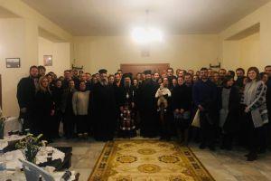 Συνάντηση νέων ζευγαριῶν στόν Ἱερό Ναό τῆς Ἁγίας Μαρίνης Πατρῶν.