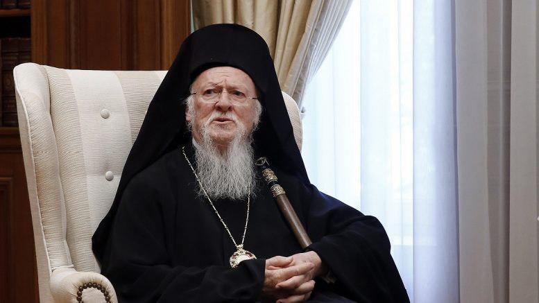 Ο Οικουμενικός Πατριάρχης έπλεξε το εγκώμιο του Αρχιεπισκόπου Στυλιανού και προανήγγειλε την «κατάτμηση» της Αρχιεπισκοπής